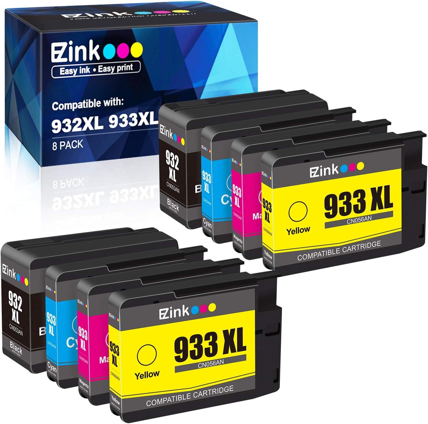 4-20P 932 933 XL Ink Cartridges for HP OfficeJet 6100 6600 7612 6700 Printer Lot