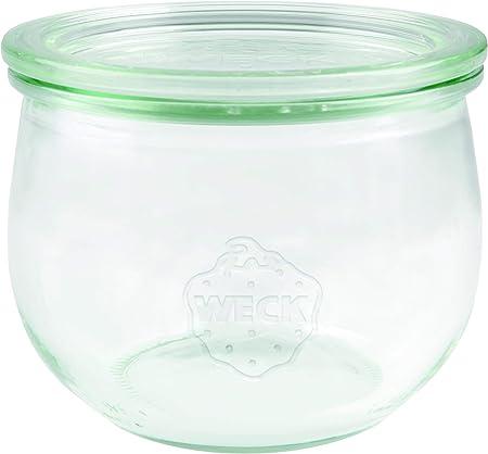 Weck 74 tulipán cristal Bormioli Fido 500 ml (einweck de calidad ...