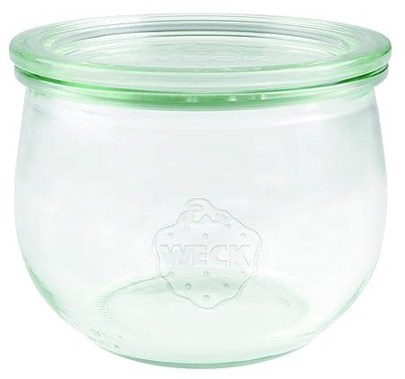 Weck 74 tulipán cristal Bormioli Fido 500 ml (einweck de ...