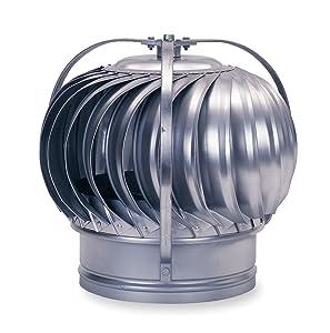 Ventilator, Turbine, 8in