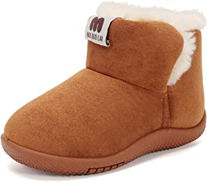 Winter Boot for Toddler Girls and Boys Little Kids