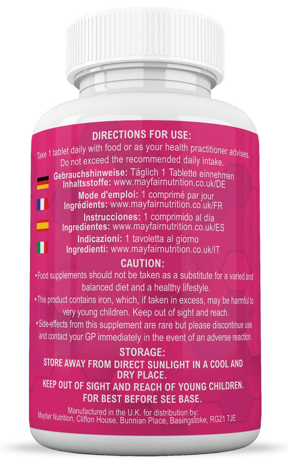 Compuesto multivitamínico para el embarazo   Fórmula de calidad superior para futuras mamás   Completo con 16 vitaminas y minerales esenciales   45 ...