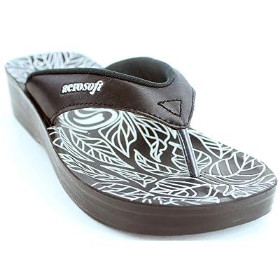 Aerosoft Women's Flowery Sandal