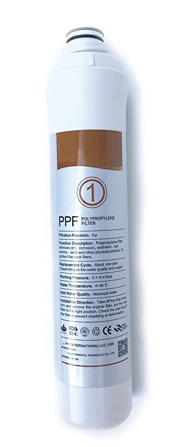 966515b828 Amazon.com: Replacement PPF Filter For NISPIRA Countertop Reverse Osmosis  Smart Drinking RO Purification Water Filter System: Home & Kitchen
