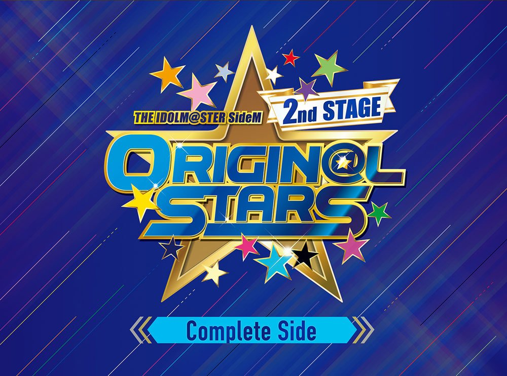 【Amazon.co.jp限定】 THE IDOLM@STER SideM 2nd STAGE ~ORIGIN@L STARS~ Live Blu-ray (Complete Side) (特製ランチトートバッグ&缶バッジ7種付) B071L7NY3C