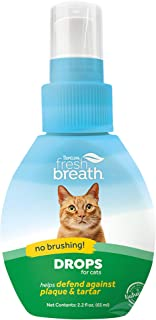 product image for TropiClean Fresh Breath Oral Care Drops for Pets - Made in USA - Natural Ingredients - On-The-Go Plaque Defense - Travel-Ready - Simply Add to Water
