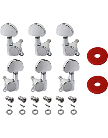 Networking New 6 Pcs Chrome Guitar String Tuning Pegs Tuners Machine Heads Aaaj