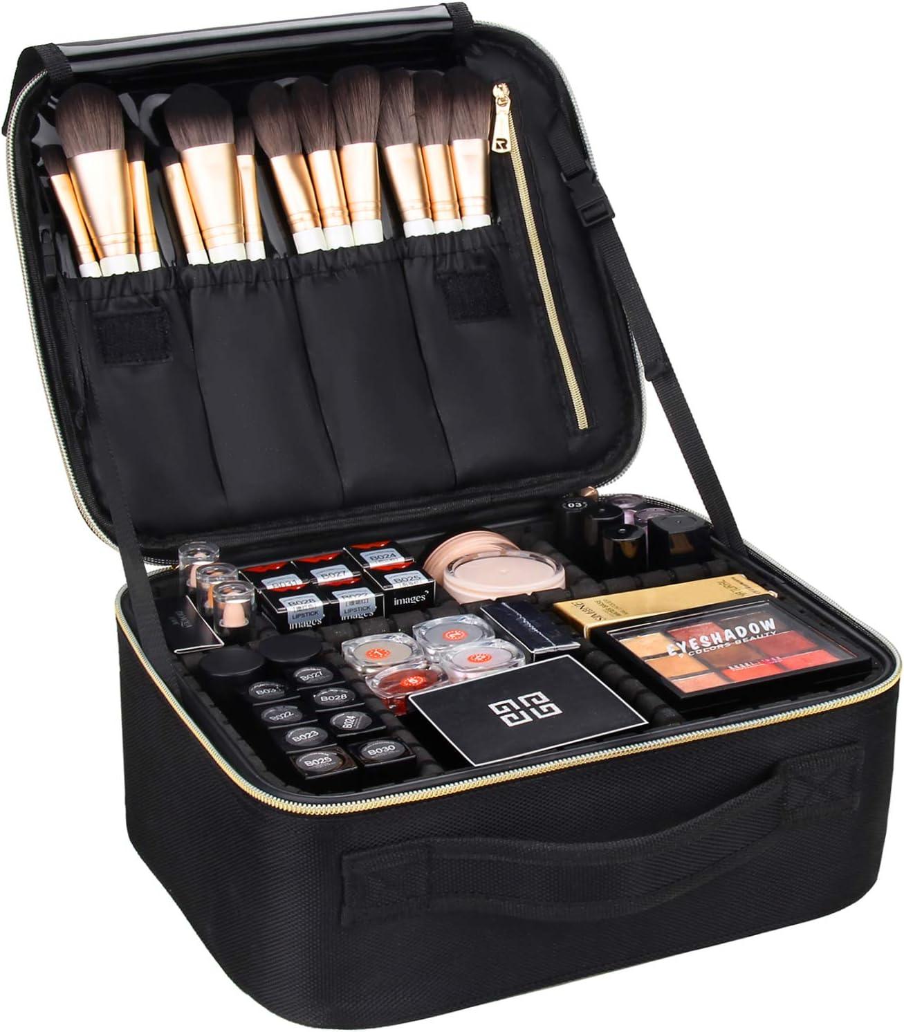 MONSTINA Professional Travel Makeup Bag