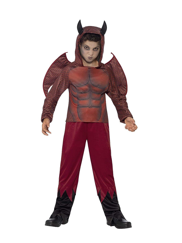 Smiffys - Disfraz Diablo de Lujo para niños (44295M): Amazon.es: Juguetes y juegos