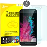 Nexus 5x Screen protector, JETech 2-Pack Premium Tempered Glass Screen Protector Film for LG Nexus 5x