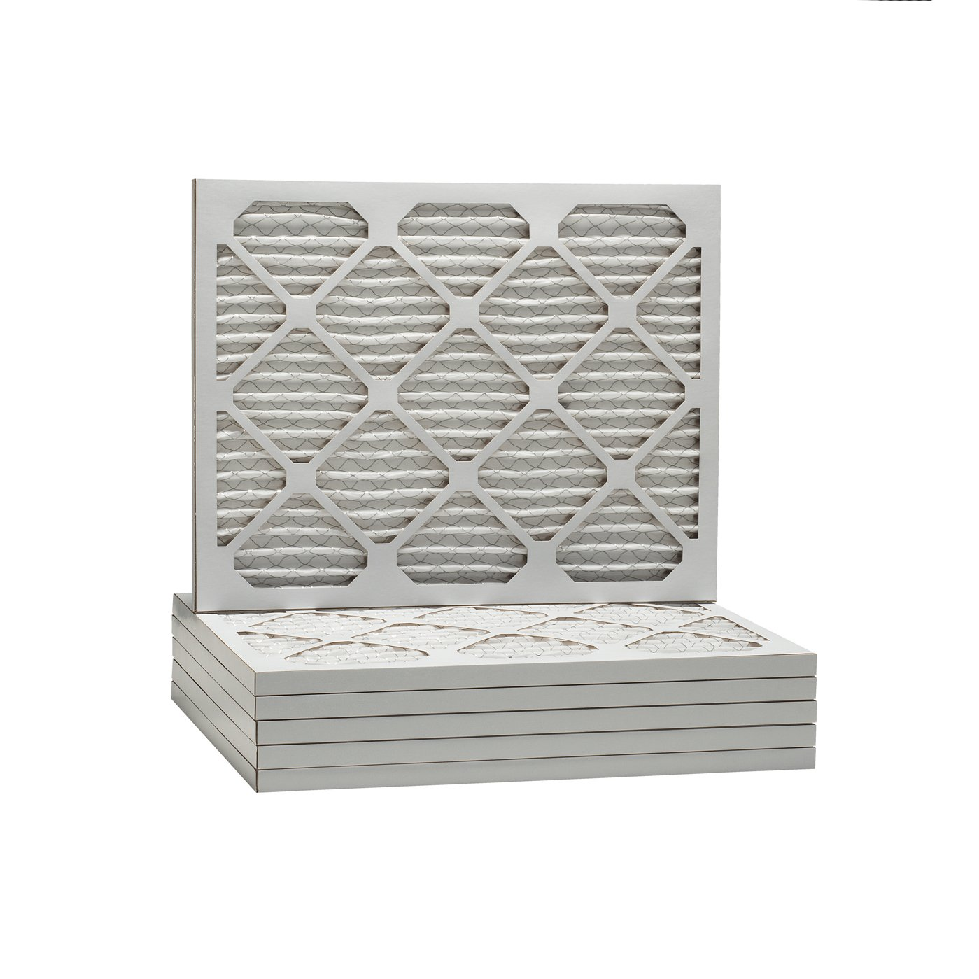 20 x 22 x 1 Dust &花粉MERV 8プリーツ交換用AC炉エアフィルタ( 6パック) B00FW0X6LI