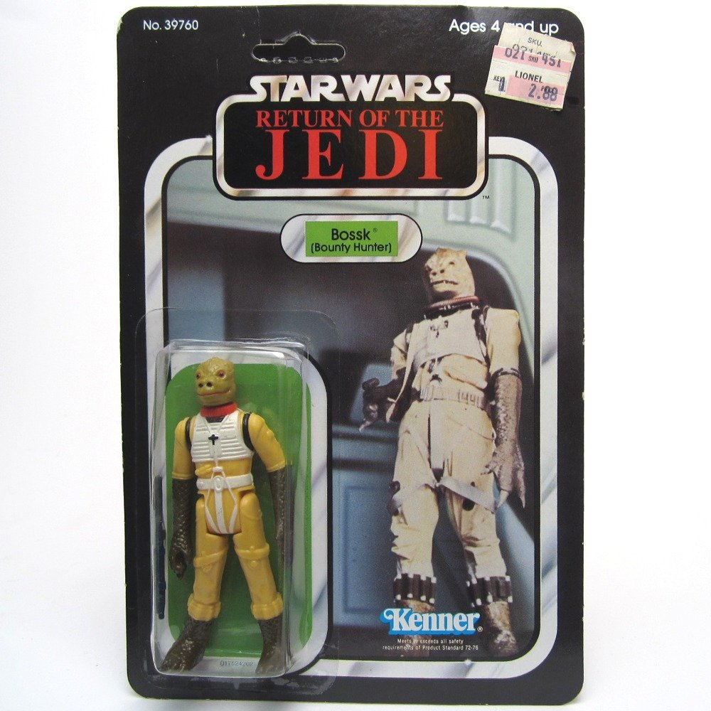 Bossk Bounty Hunter Star Wars Return Of The Jedi Vintage