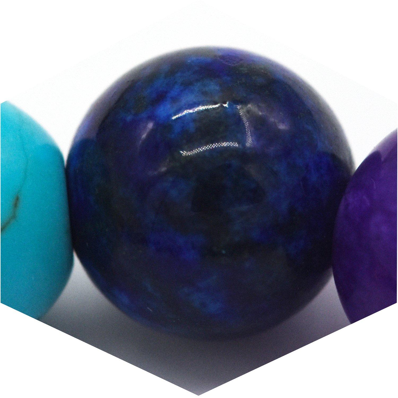 Bracelet de perles de pierre de lave naturelle Bracelet Cure Energy Bracelet Yoga Balancing Reiki Healing Bracelet