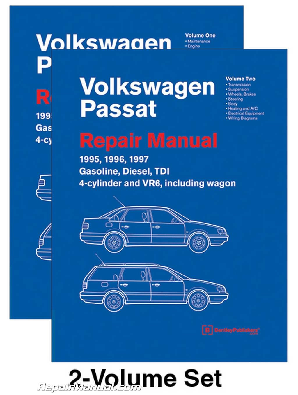 VP97 Volkswagen Passat (B4) Repair Manual 1995 1996 1997 Gasoline Turbo Diesel TDI 4-cylinder VR6 Wagon Paperback – 2015