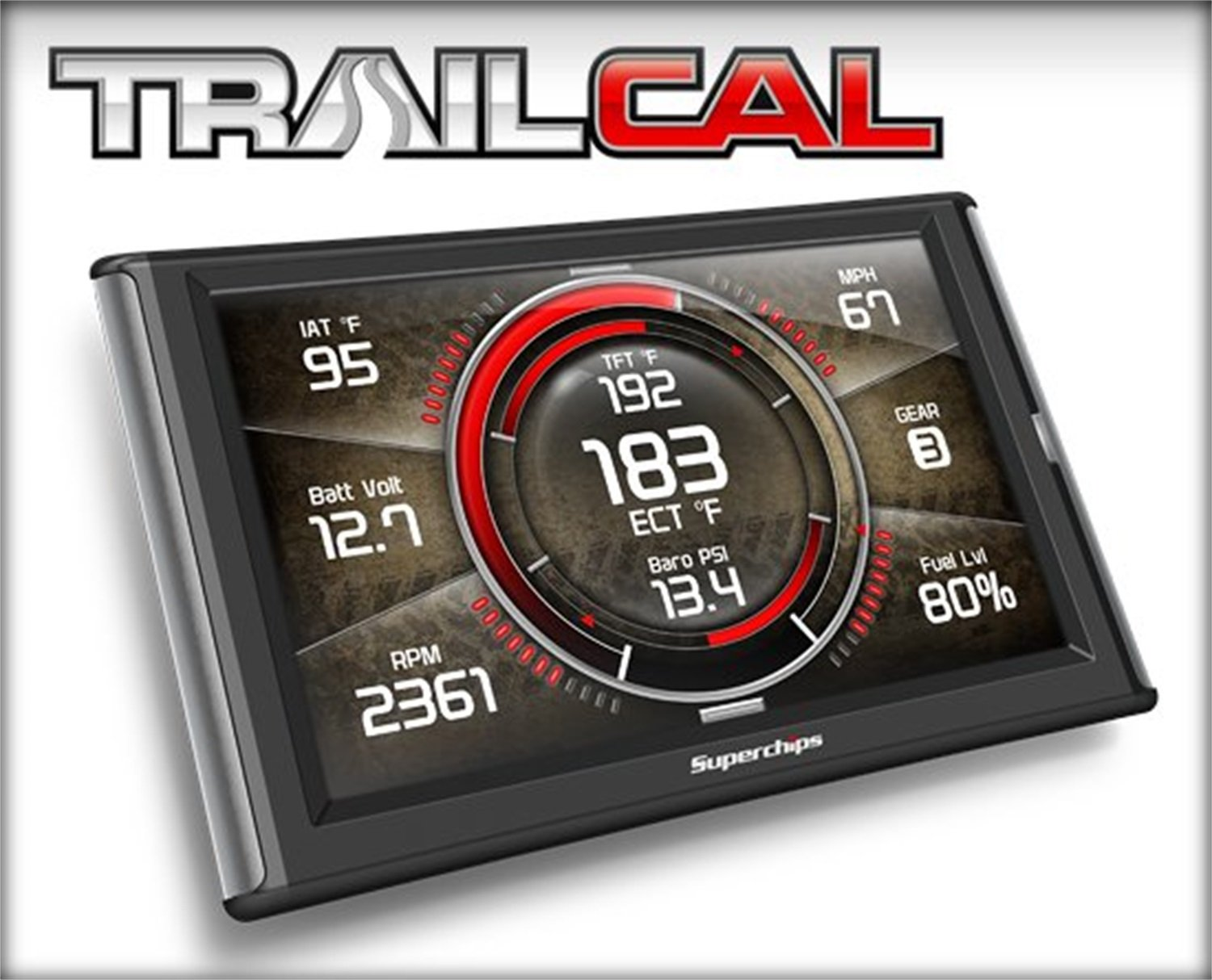 4. Superchips 41051 Trail Cal Tuner for Jeep JK