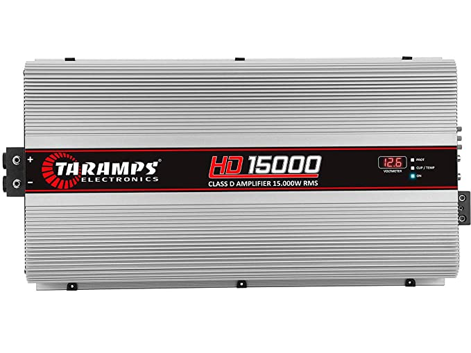 Amazon.com: Taramps HD 15000 1 Ohm Class D Full Range Mono Amplifier: Car Electronics