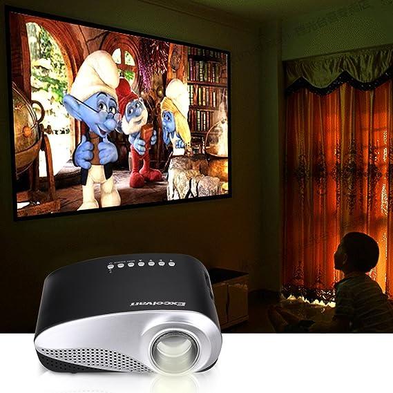 Amazon.com: Excelvan LED/LCD Portable Mini Multimedia Home ...