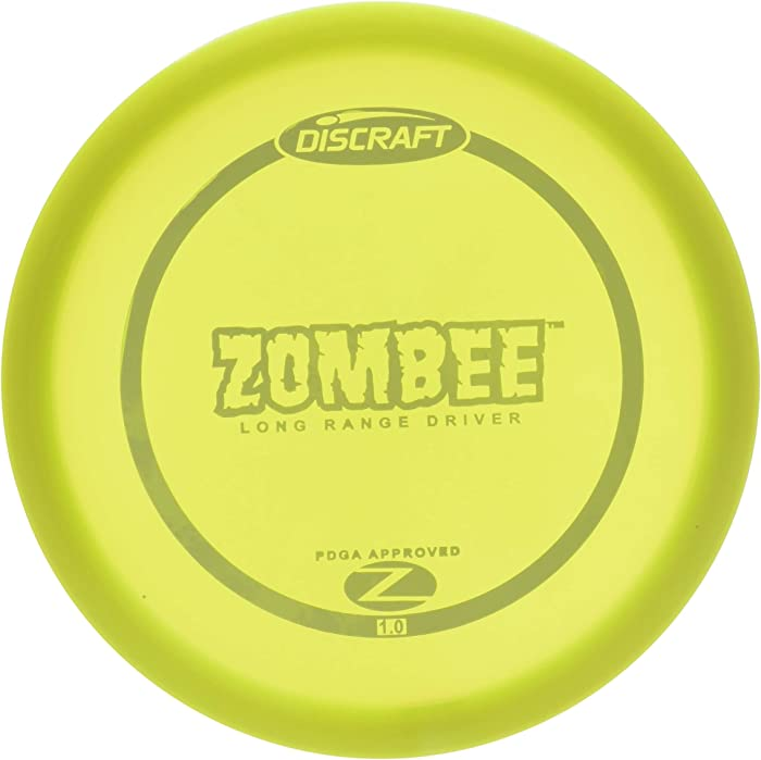 Discraft Z-Zombee Long Range Disc Golf Driver, colors may vary