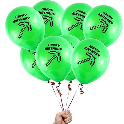 Sinotek Balloons Globos con píxeles para Fiesta de ...