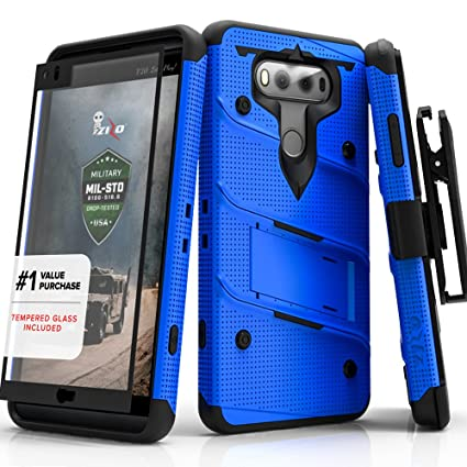 best service 79127 1b180 Amazon.com: LG V20 Case, Zizo [Bolt Series] with FREE [LG V20 Screen ...