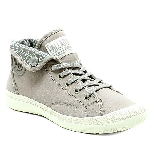 PALLADIUM Zapatillas de Deporte de Lona Mujer, Beige (Beige), 37: Amazon.es: Zapatos y complementos