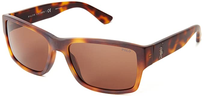 Ralph Lauren Polo Gafas de Sol Mod. 4061 0373 (57 mm) Marrón ...