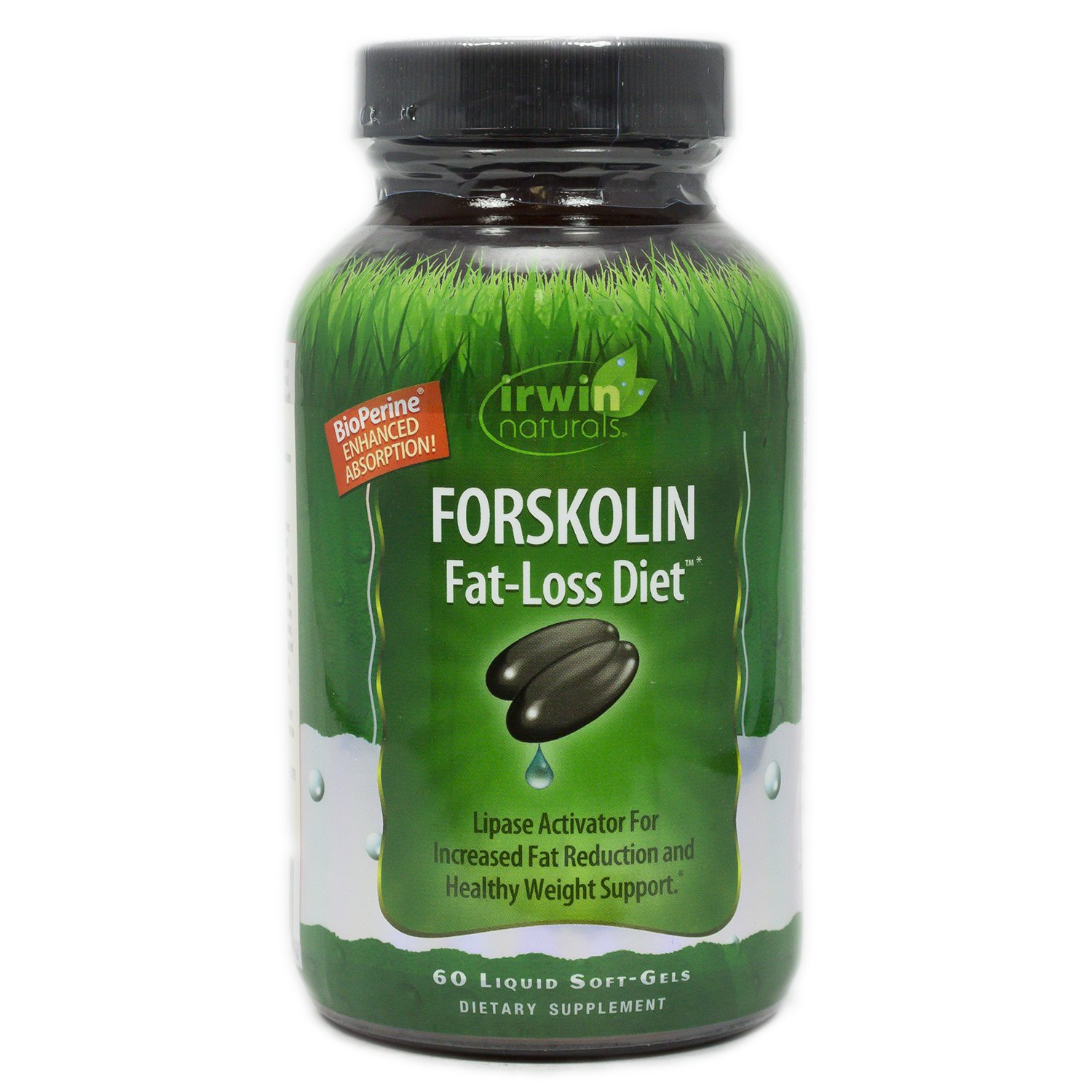 Forskolin Diet Activator by Irwin Naturals for Healthy Weight Support, 60 Liquid Soft-Gels by Irwin Naturals