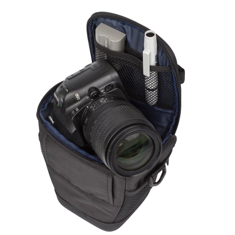Rivacase 7201_Black - Funda Tipo Colt para cámara de Fotos réflex ...