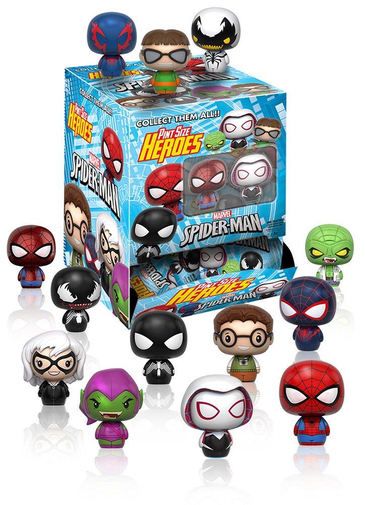 ピントサイズヒーローズ マーベルコミック スパイダーマン シリーズ1 <1BOX=24個入> B01N3TEEHE 高さ約4センチ プラスチック製 塗装済み完成品トレーディングフィギュア B01N3TEEHE, 河内町:0ef6614a --- rdtrivselbridge.se