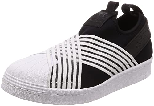 adidas Womens Superstar Slip On W, CORE Black/Footwear White/Footwear White,