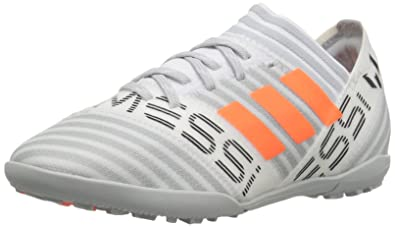 134883920 adidas Boys  Nemeziz Messi Tango 17.3 TF J Soccer Shoe White Solar Orange