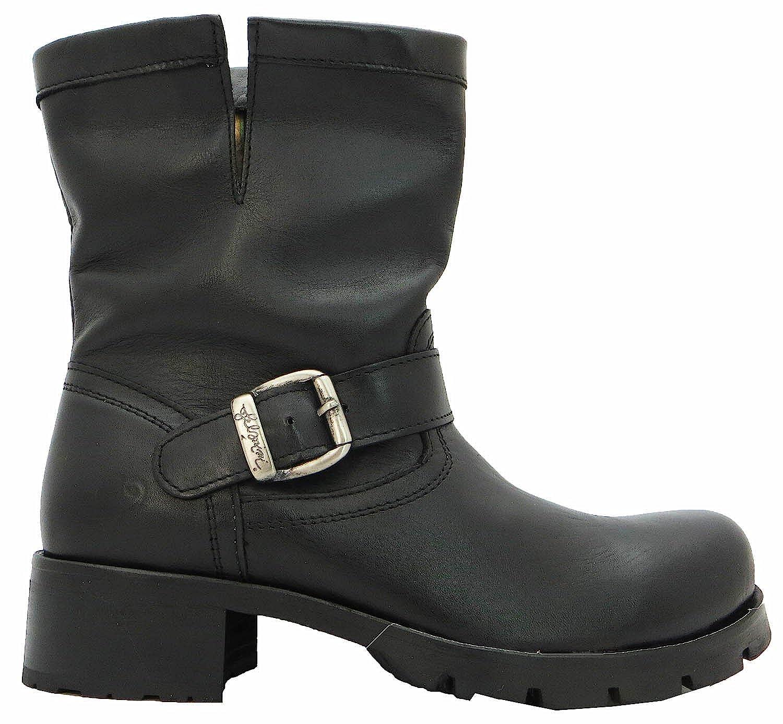 Felmini damen'8921 Ankle Stiefel Leder Leder Stiefel s 27df86
