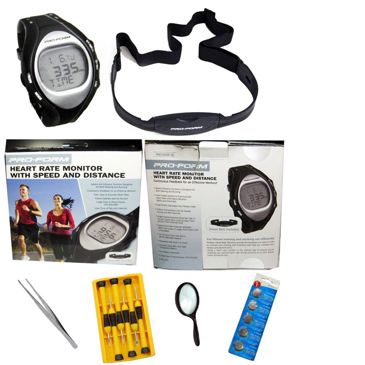 Sports Beat Pro-Form Precision Trainer SD Heart Rate Monitor