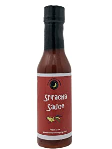Premium | SRIRACHA Sauce | Calorie Free | Fat Free | Saturated Fat Free | Cholesterol Free | Sugar Free | Crafted in Small Batches with Farm Fresh Herbs for Premium Flavor and Zest