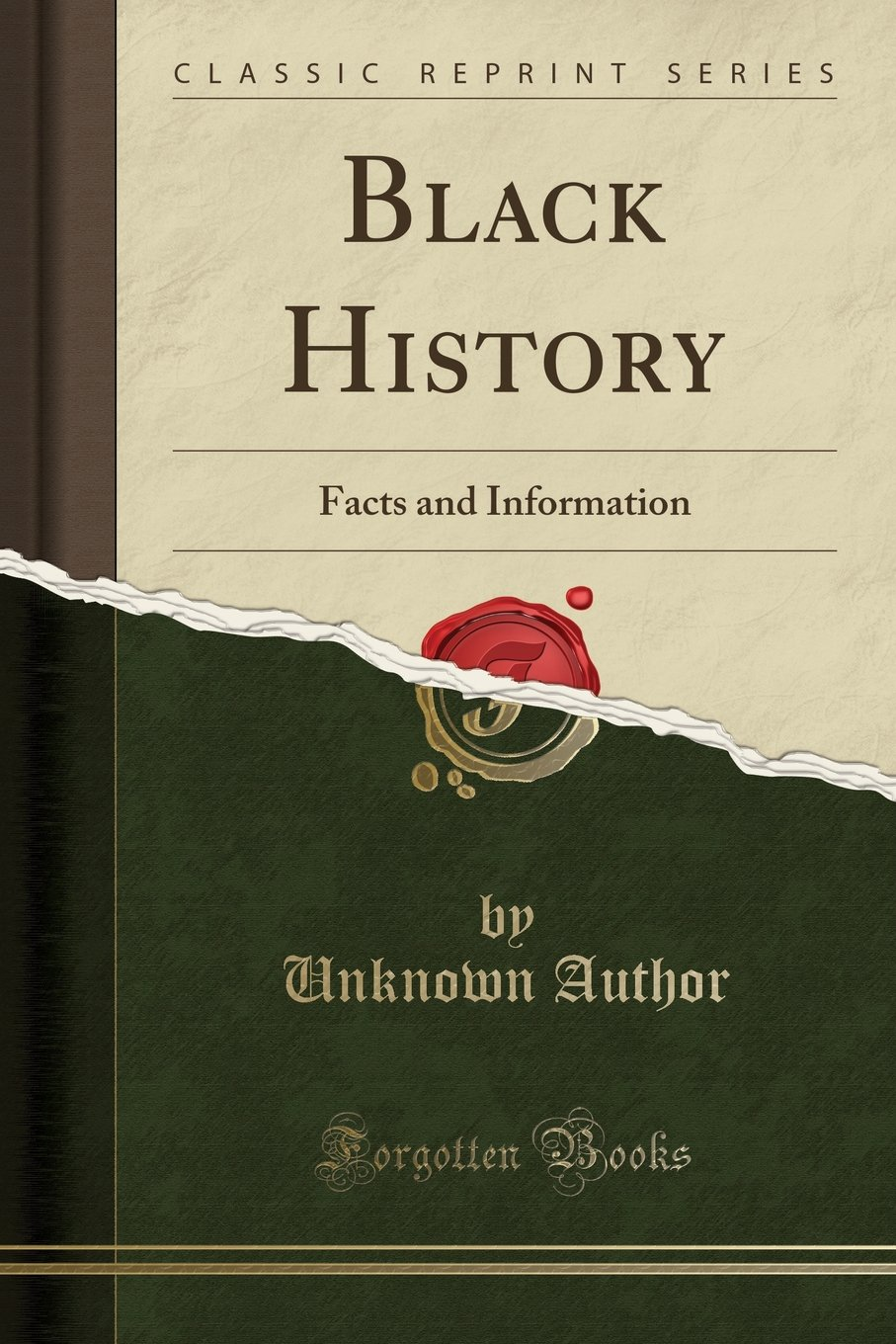 Black History: Facts and Information (Classic Reprint) ebook