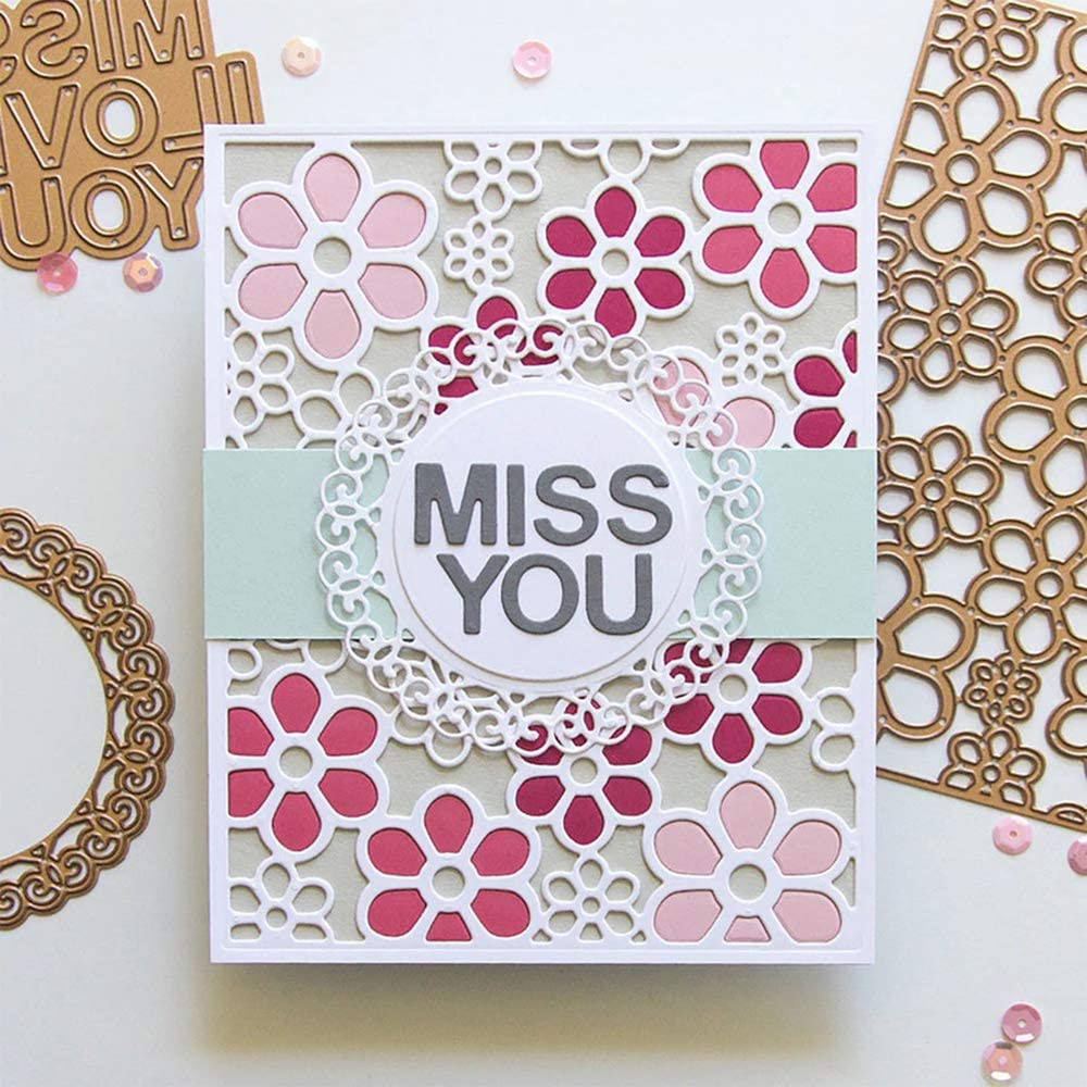 NEW  Metal Cutting Dies Cooking Scrapbooking Paper Craft Card Embossing DIY 2020