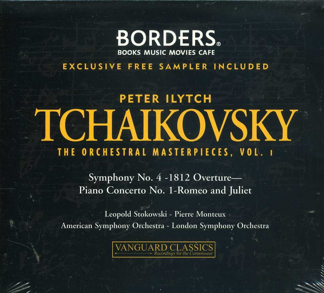 Tchaikovsky: Orchestral Masterpieces Vol. 1 [2CD Set] [Vanguard ...