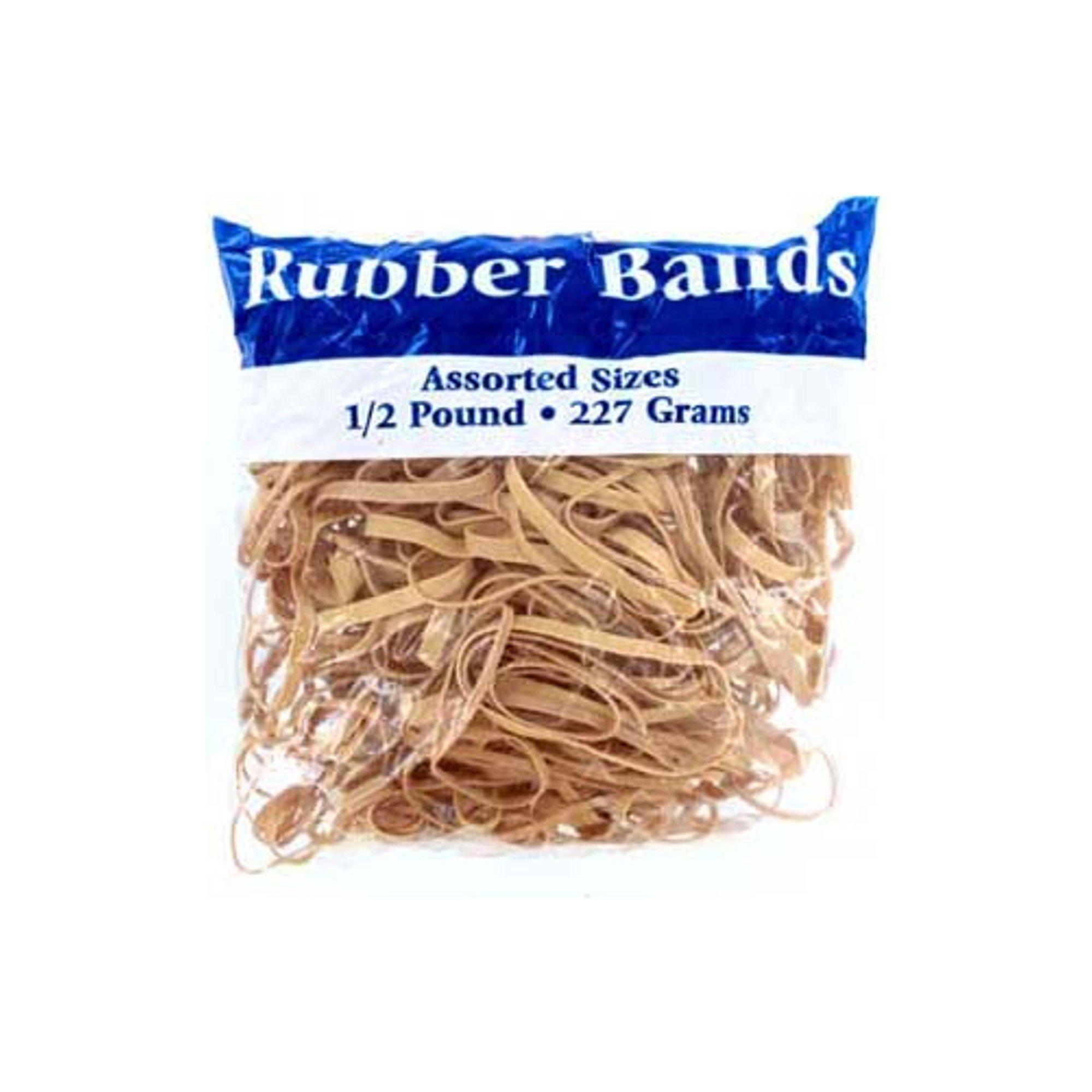 123-Wholesale - Set of 36 Rubber Bands Assortment - School & Office Supplies Rubber Bands
