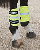 Shires Yellow Arm/Leg Bands by Equi-Flector