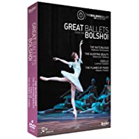Great Ballets From The Bolshoi (The Nutcracker, The Sleeping Beauty, Giselle, The Flames of Paris) [DVD] [2014]