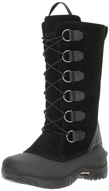 Baffin Women's Ultralite Series Coco Waterproof Boot Round Toe Black ...