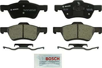 Front Ceramic Brake Pads w// Hardware for 2005-2011 Ford Escape Mercury Mariner