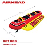 Airhead Hot Dog | 1-3 Rider Towable Tube for
