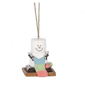 Amazon.com: S'mores Original 2017 Knitting Snowman ...