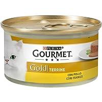 Purina Gourmet Gold Tarrine Pollo comida para gatos 85 g
