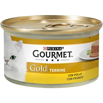 Purina Gourmet Gold Tarrine Pollo comida para gatos 85 g: Amazon.es: Amazon Pantry