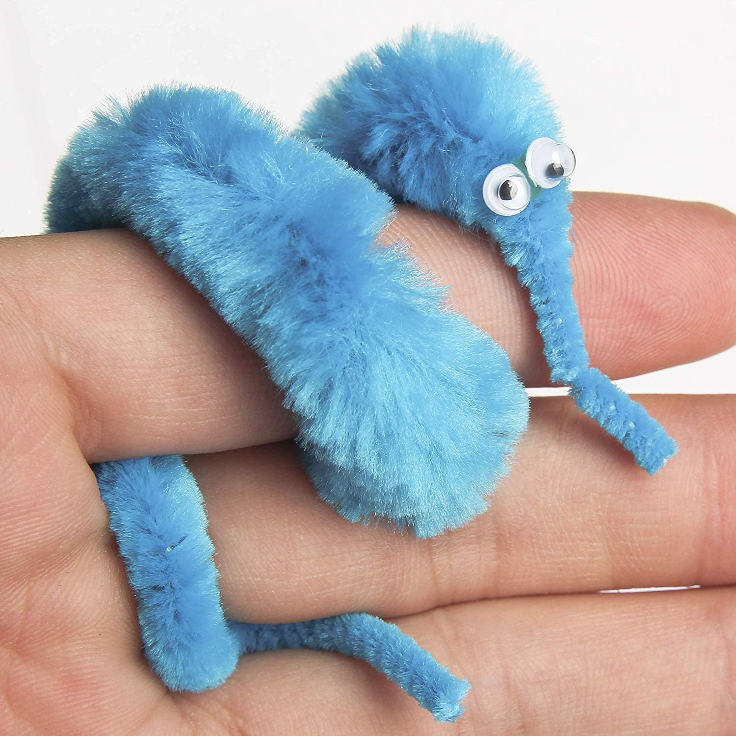 48 Pieces Magic Wiggly Twisty Fuzzy Worm Magic Worm Toys for Carnival Party Favors VAGYD Magic Worm