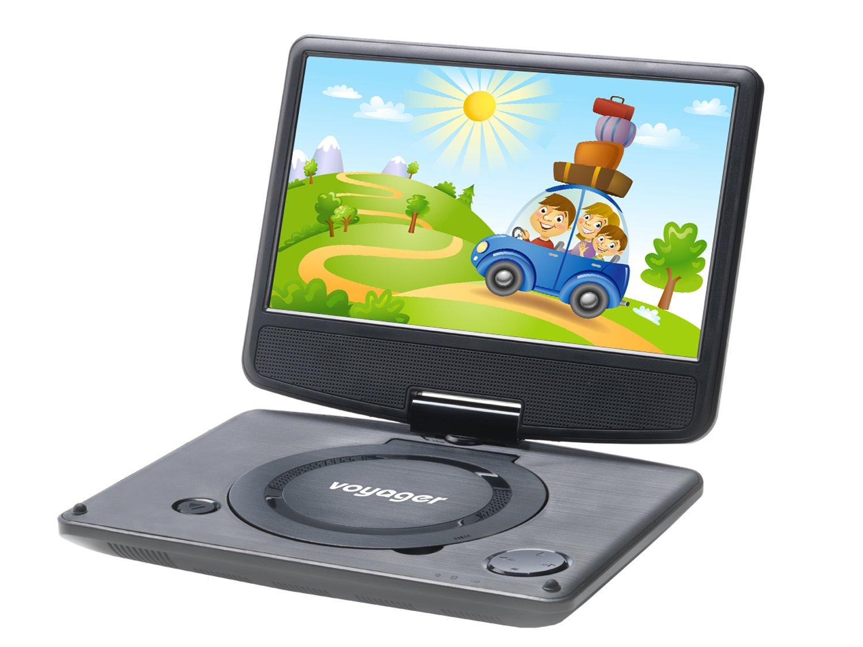 voyager tragbarer dvd player 22 8 cm 9 zoll mit. Black Bedroom Furniture Sets. Home Design Ideas