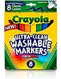 CYO587808 - Crayola Classic Washable Marker Set