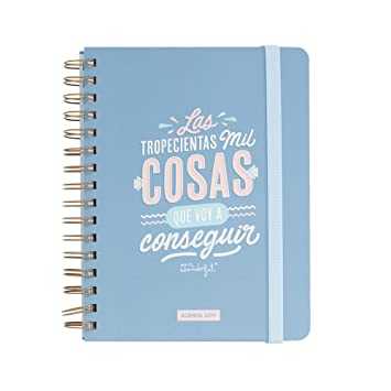 afa56791d Mr. Wonderful – Classic Year Planner 2019 Week View – Thousands of Things  to Get